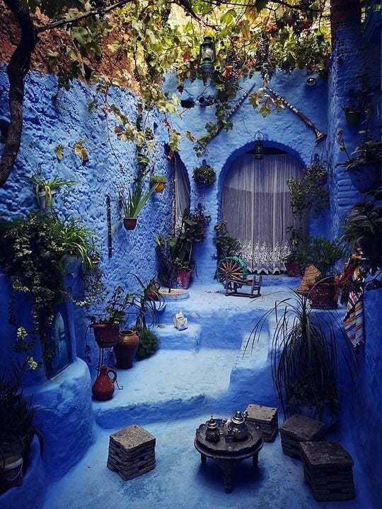 The charming city of Chefchaouen - Moroccan Corridor