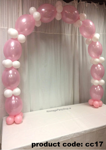 Communion Linked Balloon Arch
