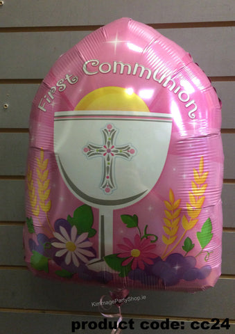 Communion Foil Balloon style 1