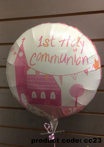 Communion Foil Balloon style 2