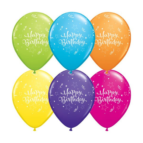 Helium Balloons (Rubber-Printed)
