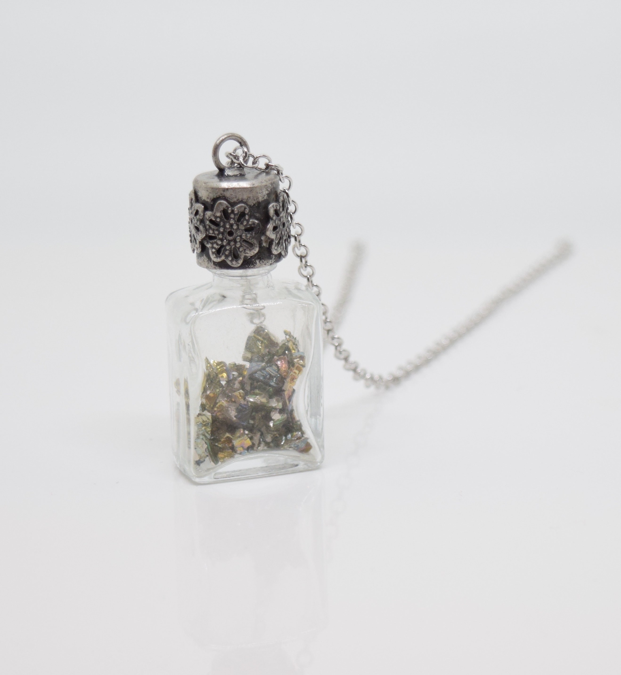 """Pixie Dust"" Bottle Necklace"