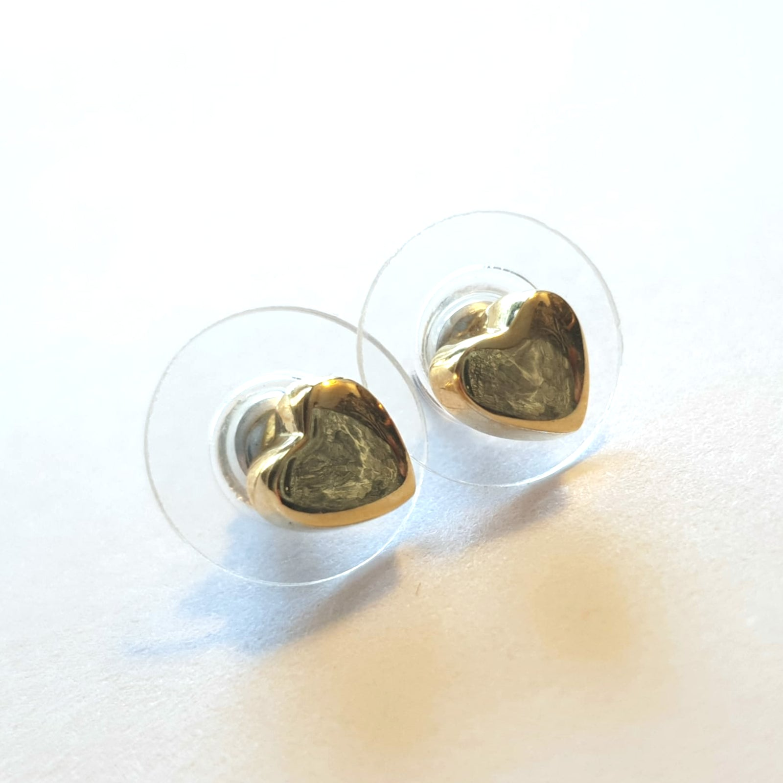 Little Gold Heart - Earring Studs