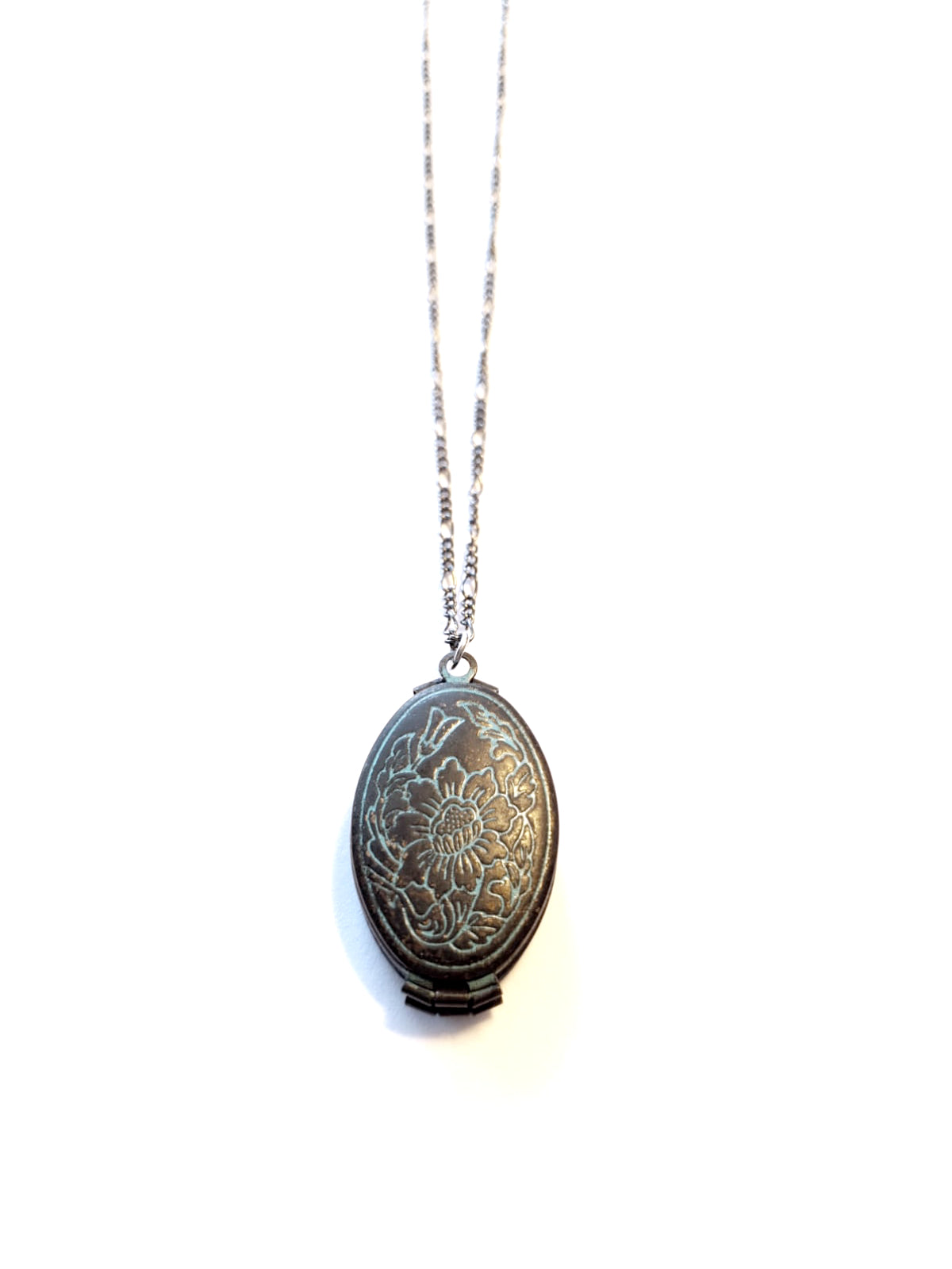 Black and Blue Locket