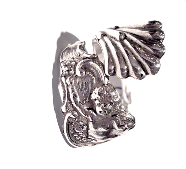 Cupid Spoon Ring