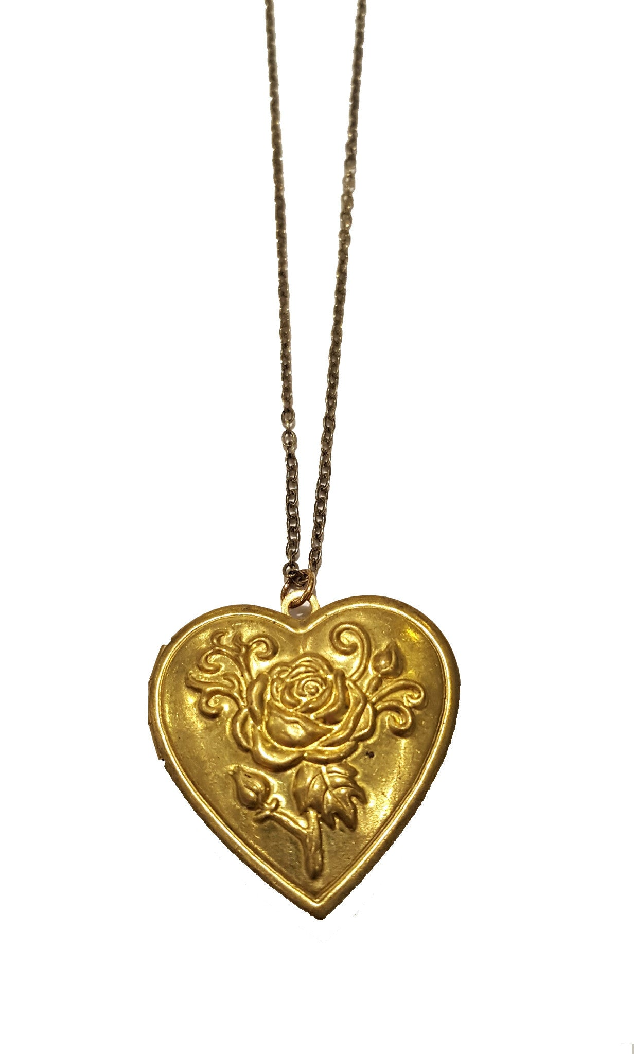 Gold Heart-Shaped Locket