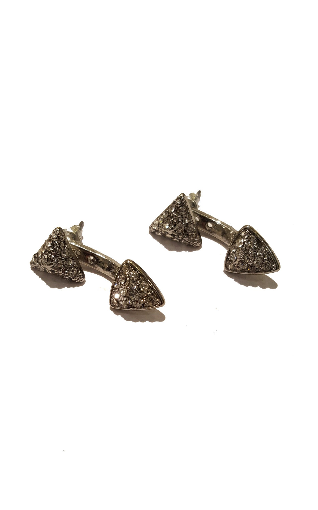 Triangle Studded Ear Jackets