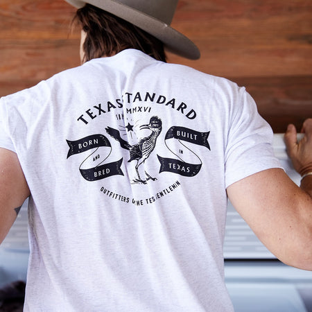 Heritage Printed Tee - Born and Bred - Texas Standard