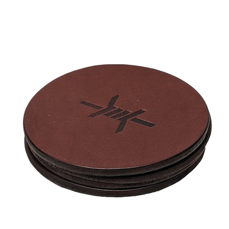 Standard Leather Coaster - Texas Standard