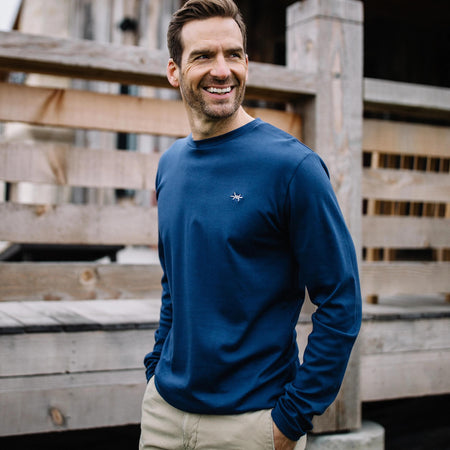 Standard Long-Sleeve Tee - Republic Navy