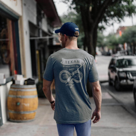 Heritage Printed Tee - Texan Is What You Are - Texas Standard