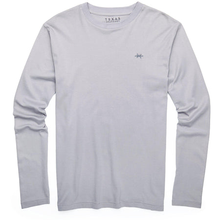 Standard Long-Sleeve Tee - Mockingbird Gray - Texas Standard