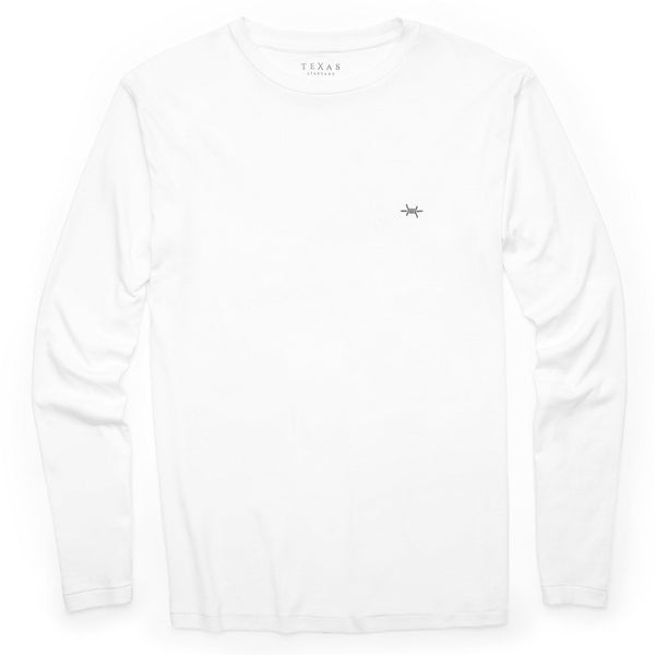 Standard Long-Sleeve Tee - Whitewing - Texas Standard