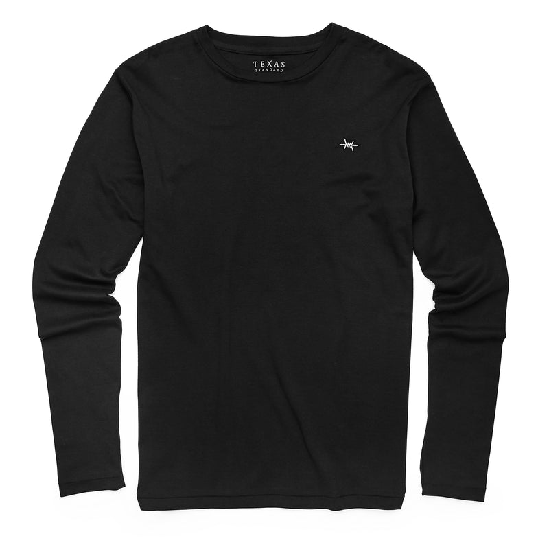 Standard Long-Sleeve Tee - Cannon Black - Texas Standard