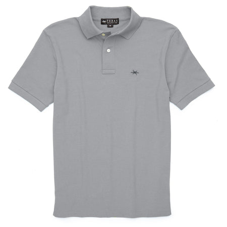 Standard Polo - Mockingbird Gray - Texas Standard