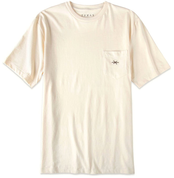 Standard Pocket Tee - Limestone (Off-White) - Texas Standard