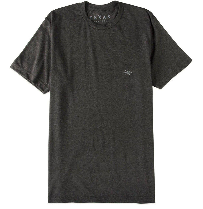 Performance Hybrid Tee - Heather Graphite - Texas Standard