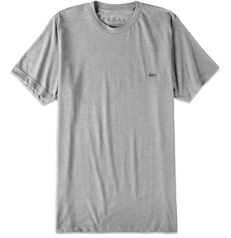 Performance Hybrid Tee - Heather Gray - Texas Standard