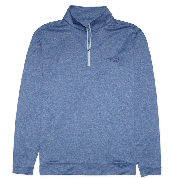 ActiveMesh Quarter Zip - Bayou Blue