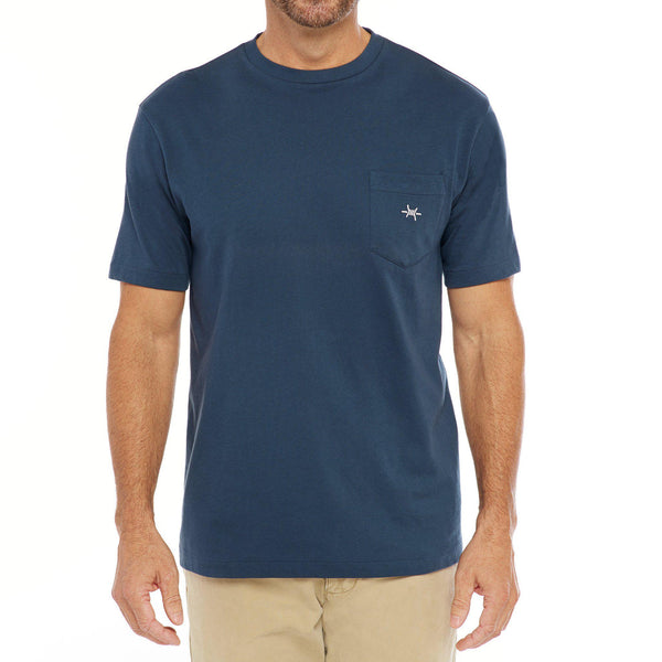Standard Pocket Tee - Republic Navy - Texas Standard