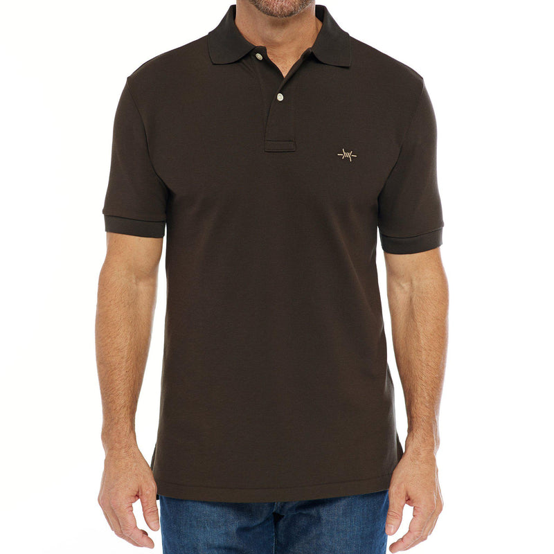 Standard Polo - Pecan Brown - Texas Standard