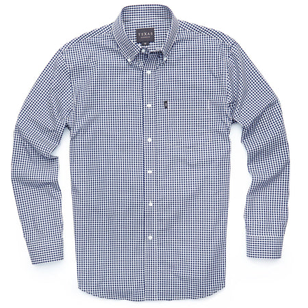 Standard Sport Shirt - Republic Navy Gingham - Texas Standard