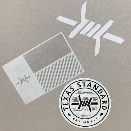 Standard Sticker Pack - Texas Standard