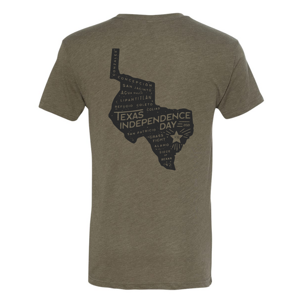 Heritage Printed Tee - Texas Independence Day 2021