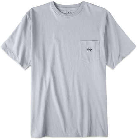 Standard Pocket Tee - Mockingbird Gray - Texas Standard