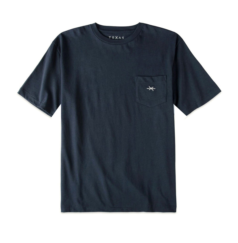 Youth Pocket Tee - Republic Navy - Texas Standard