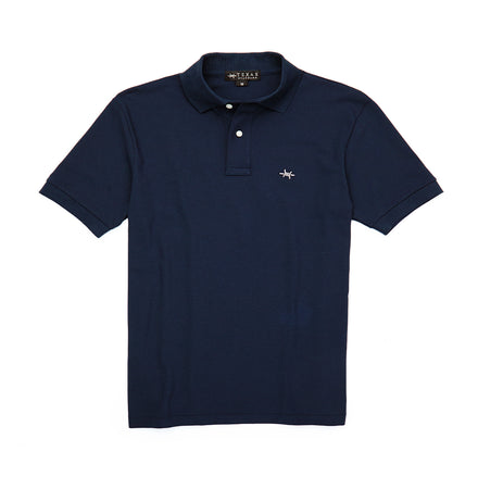 Youth Polo - Republic Navy - Texas Standard