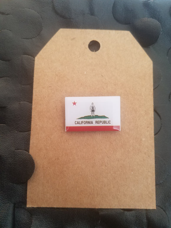 Cali Bear Flag Pin