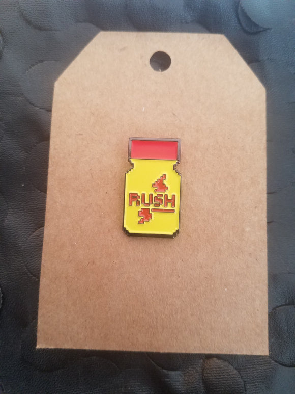 Poppers Lapel Pin