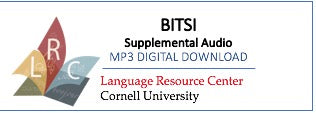 BITSI (Beginning Indonesian Through Self-Instruction) Supplemental Audio