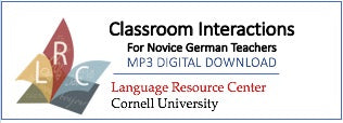 German - Classroom Interactions for Novice German Teachers