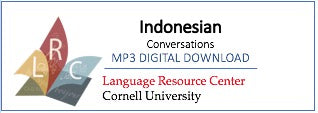 Indonesian - Indonesian Conversations (MP3 Digital Download)