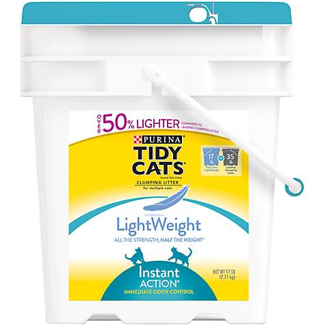 Tidy Cats Scoop Clumping Litter Light Weight Cat Litter