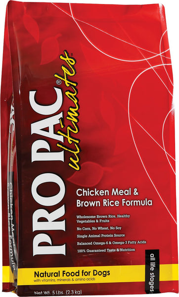 Pro Pac Ultimates Chicken Meal & Brown Rice Dry Dog Food