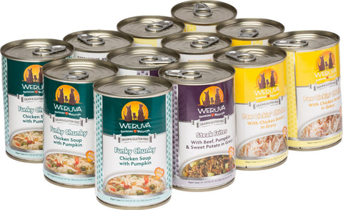 Weruva Grain-Free Canned Dog Food- 14oz can