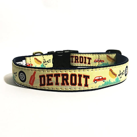 Detroit Dog Collar x City Bark