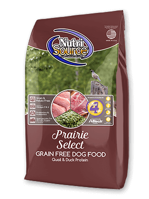 NutriSource Prairie Select Grain- Free Dry Dog Food