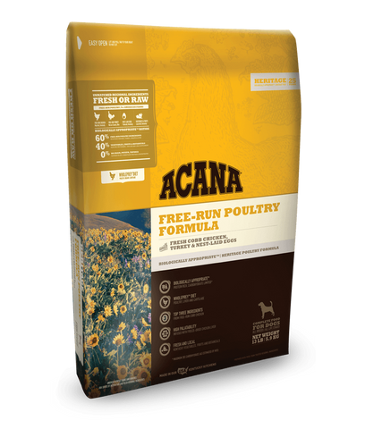 ACANA Heritage Free-Run Poultry Formula Grain-Free Dry Dog Food