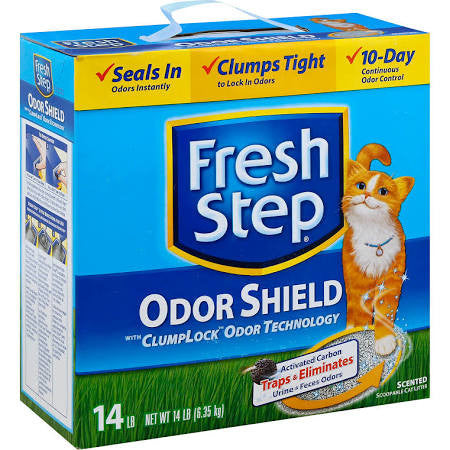 Fresh Step Oder Shield Cat Litter- 14lb