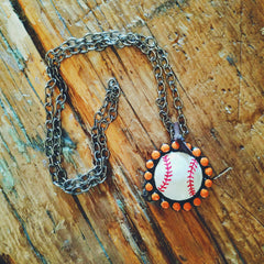 BASEBALL NECKLACE