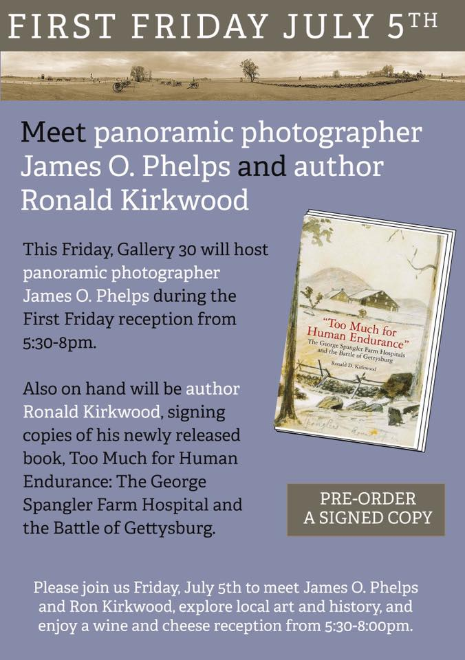 July 2019 First Friday: Panoramic Photographer and Local Author