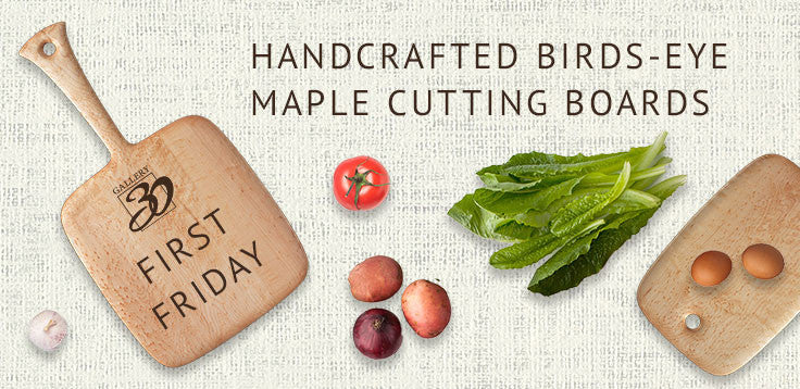 March First Friday: Bird's Eye Maple