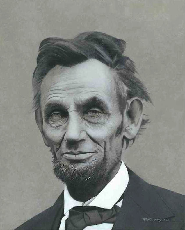 Abraham Lincoln Portrait Artist Rich Thompson