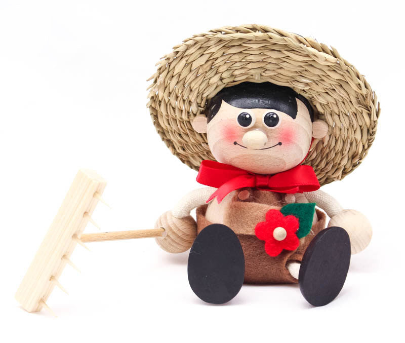 Gardener Boy Handcrafted Wooden Jumpie