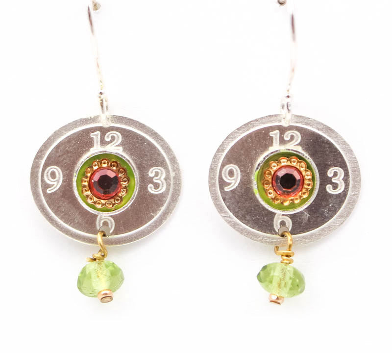 Green Poppy Earrings by Wanna Buy A Watch?