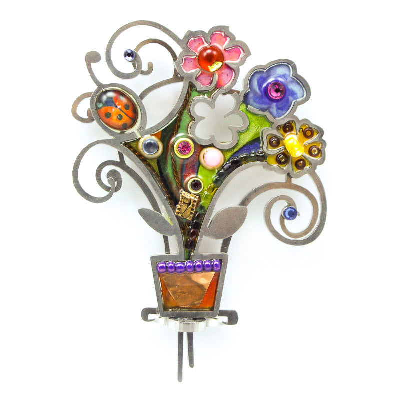Springbeam Flower Bouquet Pin